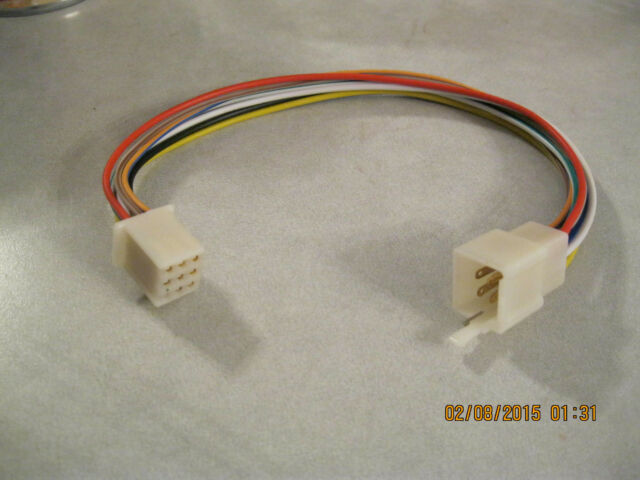 kubota rtv 9 pin radio tractor plug female male cd player in dash rh ebay com Kubota Tractor Wiring Diagrams kubota wiring harness replacement l235