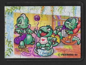 Jouet kinder puzzle 2D Dapsy Dino Family 659282 Allemagne 1997 avec étui +BPZ 1HKm0Hif-08014551-344287532