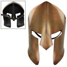 Ancient Greek Copper Spartan Medieval  Battle Facial Mask Armor
