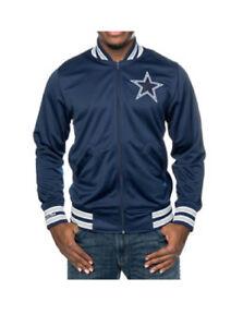 best loved 33354 af08a Details about NFL Dallas Cowboys Men's Mitchell & Ness Division Track Jacket