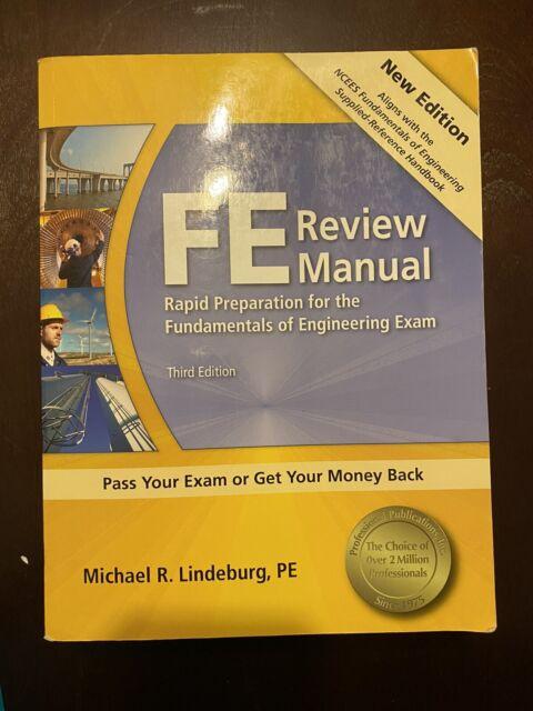 FE Review Manual- Third Edition