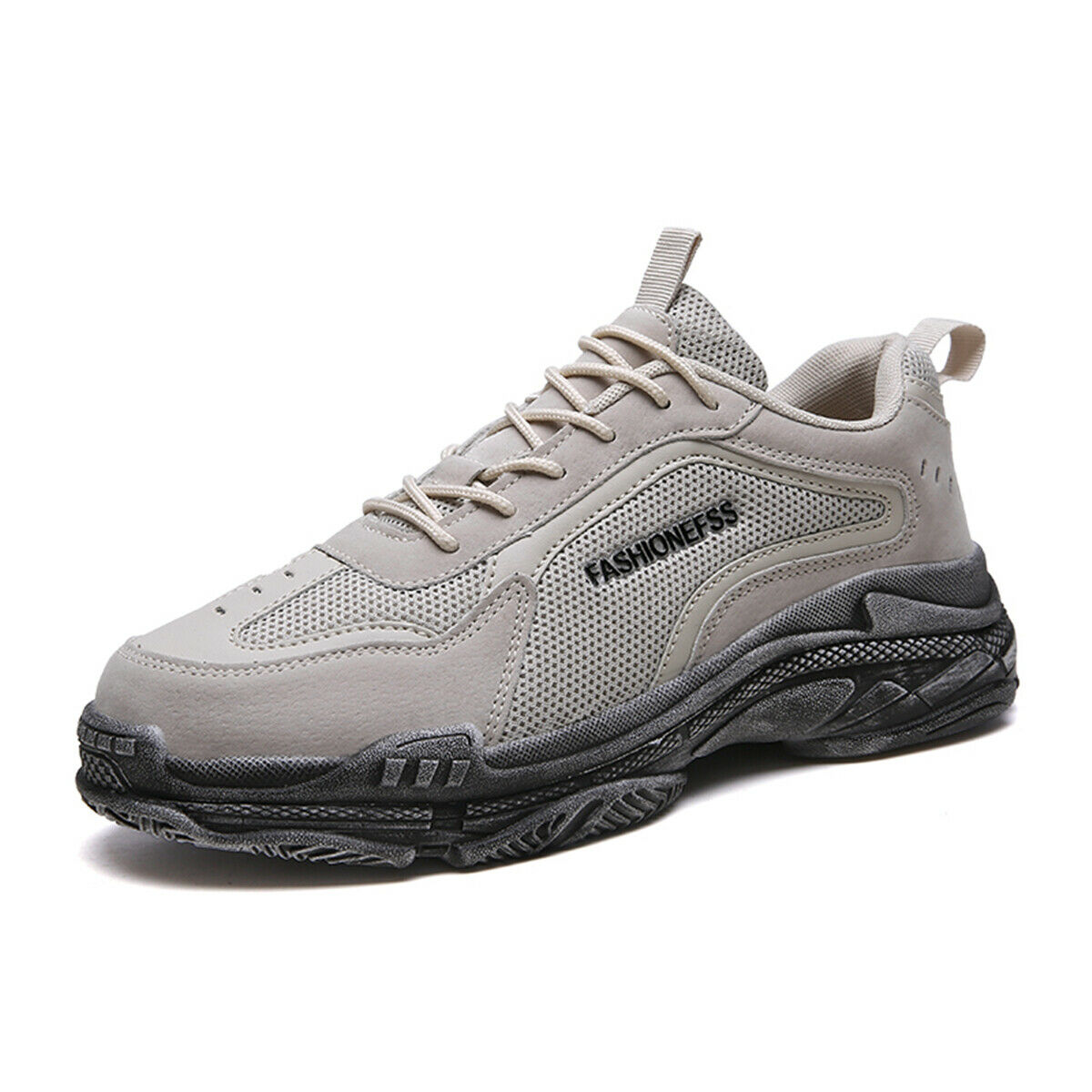 2019 Fashion Mens Sports Dad shoes Running Gym Tennis Walking shoes Breathable
