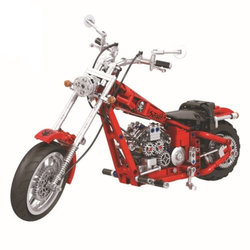 568pcs Modell Bildung Bausteine Spielzeug Geschenk Set klassisches Motorrad