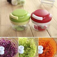 Kitchen Spiral Slicer Food Chopper Dicer Meat Fruit Cutter Mixer Salad Crusher