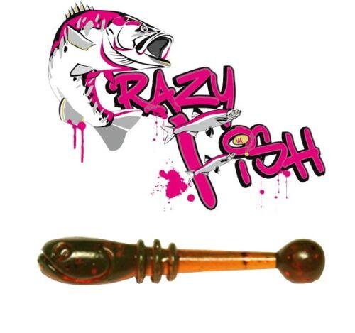 Gummifische Crazy Fish Whitebait 2,1 cm Jigköpfe Jigs im Shop