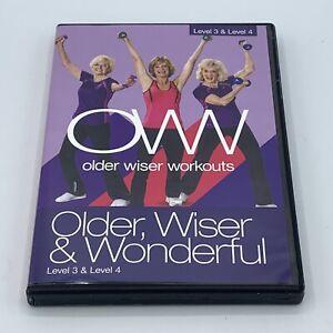 Older Wiser Workouts DVD - Older, Wiser & Wonderful Level 3 & Level 4 OWW