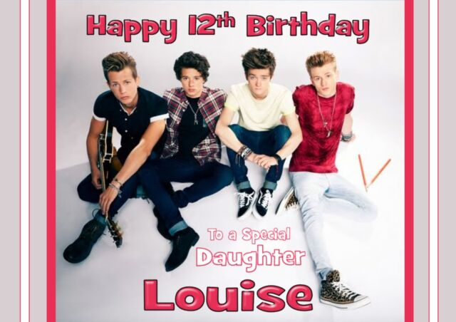 Personalised THE VAMPS Birthday Greeting Card Any Occasion