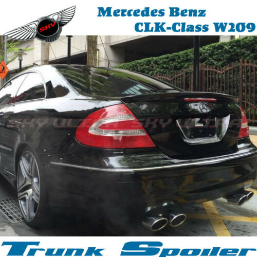 Stock New A Type Trunk Spoiler For MERCEDES BENZ W209 CLK-Class 2D AMG 2004-08