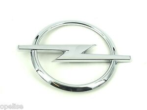 Genuine-New-OPEL-BLITZ-BOOT-BADGE-Vauxhall-Rear-Emblem-For-Corsa-C-2000-2006