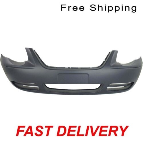 WB W//O Fog Lamp Hole Fits Town /& Country CH1000434 Front Bumper Cover 119 in