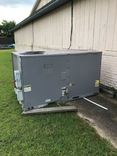 Shipping Containers For Sale Ebay >> Used Carrier 10 Ton R22 Package Unit 460 V 3ph With Natural Gas Heater