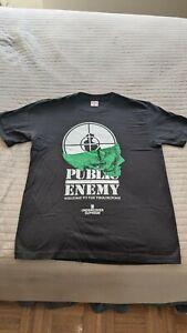 100-Authentic-Supreme-Public-Enemy-Terrordome-Tee-Black-Size-M