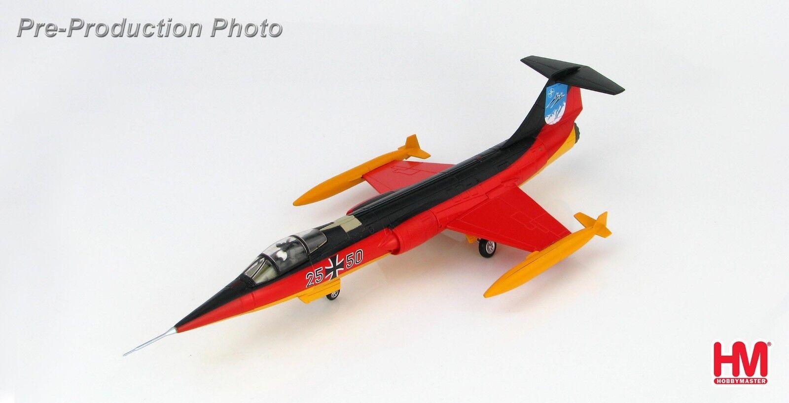 están haciendo actividades de descuento Hobby Master HA1040, HA1040, HA1040, Lockheed F-104G 25+50, 25th aniversario de JG-34 Luftwaffe  liquidación hasta el 70%