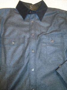rag-amp-bone-Wool-Blend-Twill-Jack-Shirt-Over-Shirt-NWT-Medium-595-Charcoal-Gray