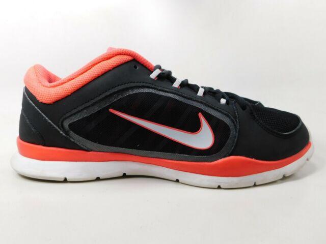 4745046d9574 Nike Women s Flex Trainer 4 Running Shoes 12 Black White 643083 002 ...