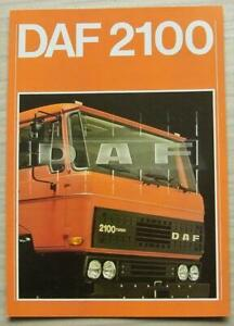 DAF-2100-TRUCKS-Commercial-Vehicle-Sales-Brochure-Sept-1978-EB-586-GB-3500-0978