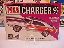 MPC 1969 DODGE CHARGER R/T VINTAGE KIT #769-200 1/25 AMT CUSTOM CLEAR HOOD ONLY