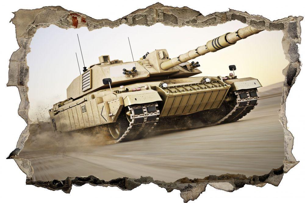 Panzer Militär Wandtattoo Wandsticker Wandaufkleber D0206