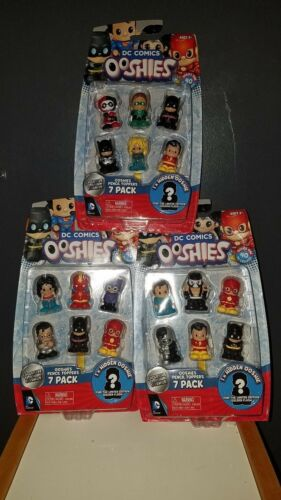 """U PICK New Ooshies Set  /""""DC  1/"""" Action Figure 7 Pack"""