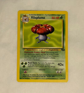 Jungle 31//64 WoTC Non-Holo Rare Pokemon Card 1999 Vileplume