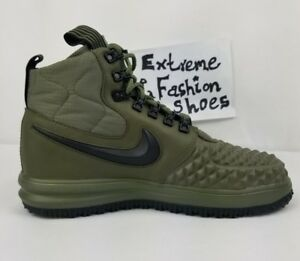 Details about NEW Nike Lunar Force 1 Duckboot 17 916682 202 Olive Green LF1 Size 8.5 9 9.5