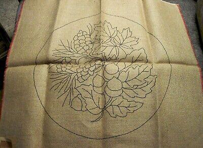 Hooked Rug Pattern W Cushing