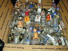 "(1000) 50ML MINI LIQUOR  BOTTLES PLASTIC BOTTLES EMPTY  SOLD ""AS IS"" W/CAPS"