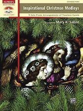 Inspirational Christmas Medleys: 9 Solo Piano Arrangements of Timeless Carols