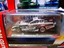 Rare Autowold Rel 6 NHRA John Force Mustang 4 Gear HO SLOT CAR Run on Tomy AFX