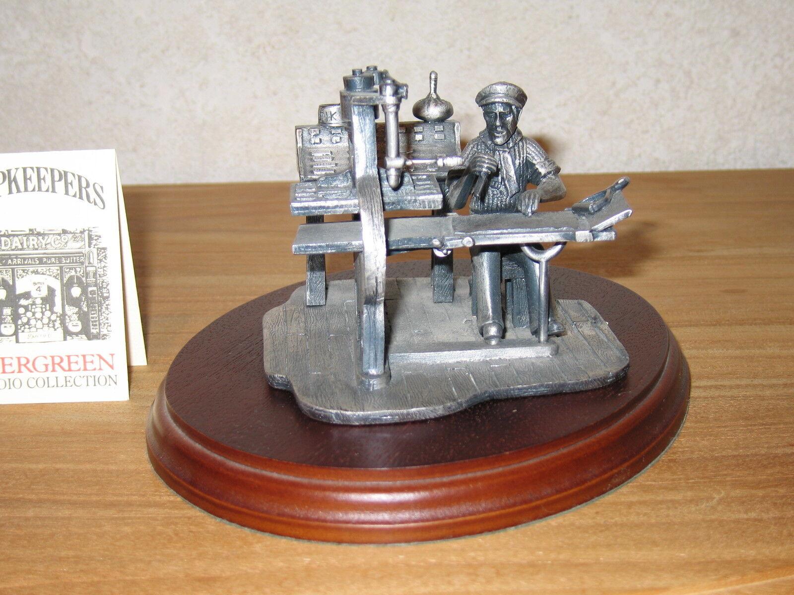 EVERGrün NEW Imprimeur en étain 9cm