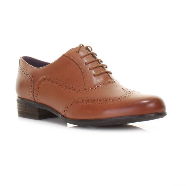 84aac9bd628 Clarks Hamble Oak Dark Tan Leather Ladies Brogues Various Sizes 8 UK ...