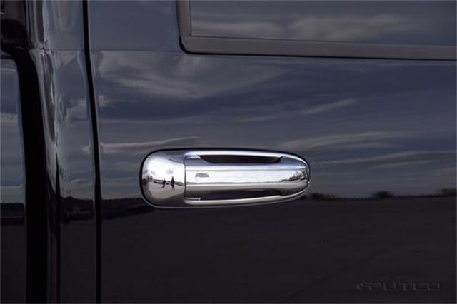 For 2002-2008 Dodge RAM 1500//2500//3500 4 Chrome Door Handle Covers w// PS Keyhole