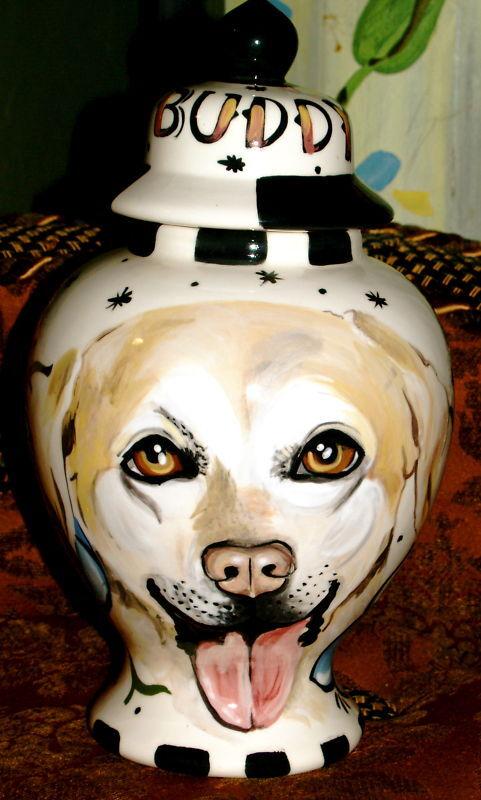 Individuelle Jede Rasse Hund Urne FeuerBesteattung Golden Retriever