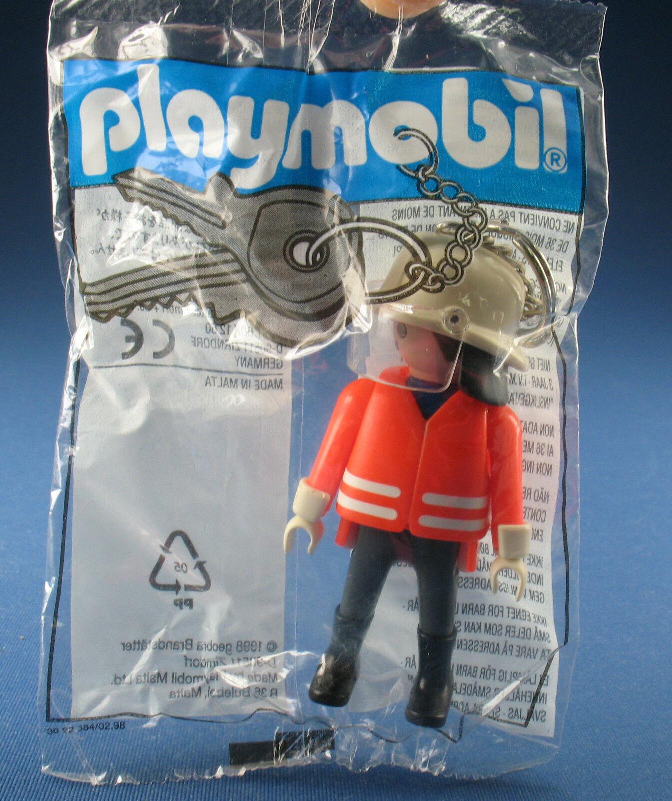 PLAYMOBIL 87904 - Schlüsselanhänger Feuerwehrmann - Fireman key chain - Neu  | Stil