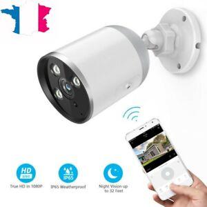 1080P Wifi IP Caméra de Surveillance Sans fil Vision Nuit Sécurité prise EU
