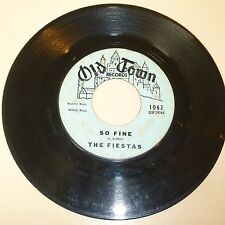 NORTHERN SOUL 45 RPM RECORD - THE FIESTAS - OLD TOWN 1062 (W/ PIANO INTRO)