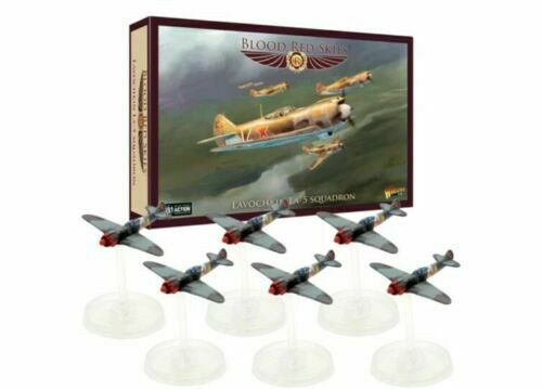 Warlord Games LAVOCHKIN LA-5 Escadron-Rouge Sang Ciel Andy Chambers