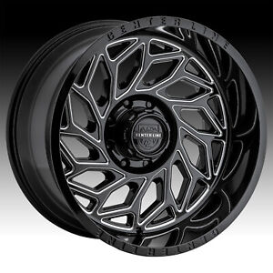 Centerline 846BM LT6 Quake Black Milled 22x12 6x135 6x5.5 -44mm (846BM-2226844)