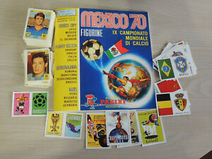 PANINI-MEXICO-70-ALBUM-COMPLETE-SET-OF-STCKERS-AND-CARDS-ANASTATIC-VERSION