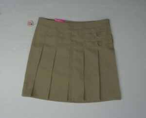 ed0d2483f4 French Toast Girls 16 Khaki Adjustable Waist Two Tab Scooter Pleated ...