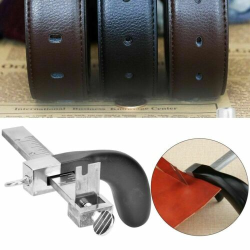 Leather Strap Cutter Machine Aluminium Leather Strip Cutting Belt Tool
