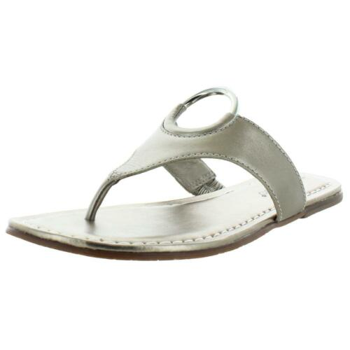 Bernardo Women/'s Mallory Antique Leather O-Ring T-Strap Sandals