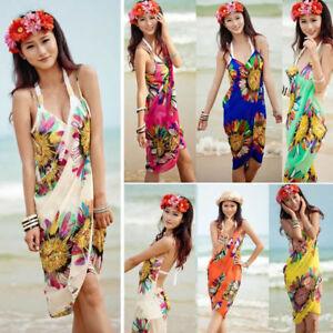 e76bd162fc9c6 Image is loading Women-Fashion-Summer-Beach-Dress-Bikini-Swimwear-Cover-