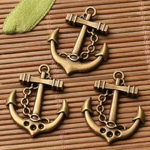 10pcs Antique Bronze Color Premium Design Charms EF3334