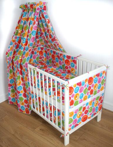 Baby Bettset Bettwäsche Nestchen 100X135 Himmel Bett Baumwolle SONDERANGEBOT