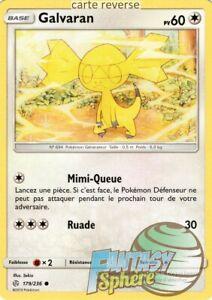 Carte Pokemon GALVARAN 179//236 REVERSE Soleil et Lune 12 SL12 FR NEUF