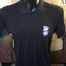 Birmingham City Football Club Polo T shirt/TOP UFFICIALE BLU Mens Medium
