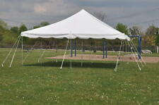 New 20 x 20 White Pole Tent Outdoor Canopy Party Event Tent Gazebo Shelter & 40 X 60 White Canopy Pole Tent Outdoor Party Tent Event Marquee ...