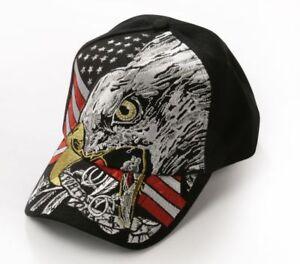 b7d121188d548f Das Bild wird geladen Basecap-Basball-Cap-Cappy-USA-Adler-Eagle-Western-