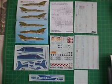 Mig 21 MF Fishbed Polish AF and German AF decals set -- Tiger Wings 32-120